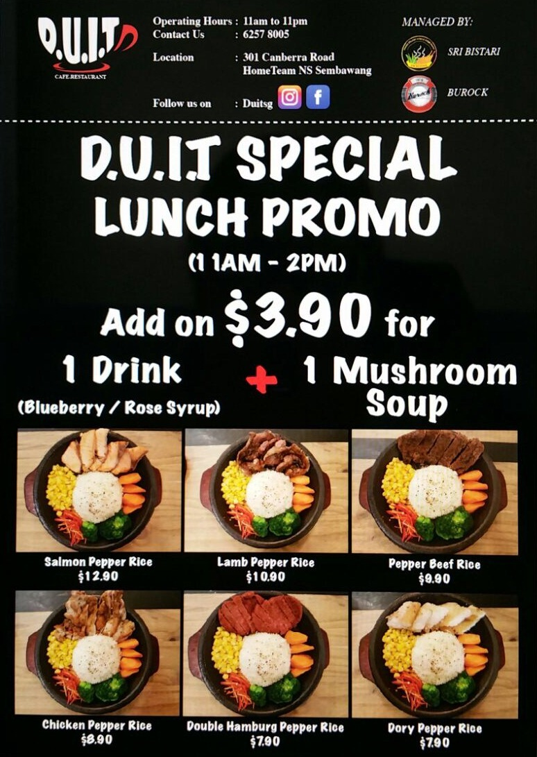 Lunch Promotion Banner